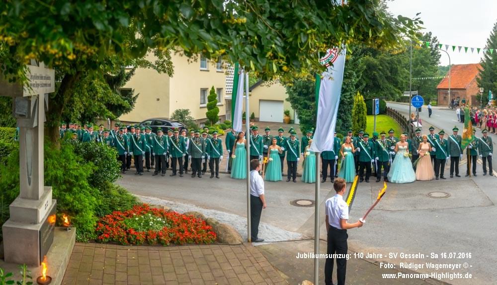 Gesseln - Schützenfest - 110 jähriges Jubiläum - Sa(16.07.2016)