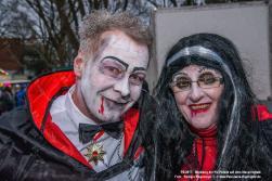 Ausklang des Karneval-Umzugs auf dem Maspernplatz 2017