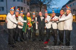 KV Rosen Mo- Ausklang KV im Ratskeller-Hase verrbenng 2017-RW B7451-