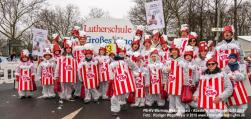 Vorbereitung der Karnevalsparade auf dem Maspernplatz PB (SA, 10.02.2018)