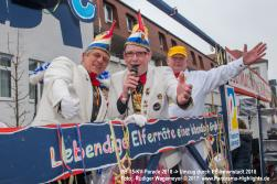 Karnevalsparade in Paderborn 2018