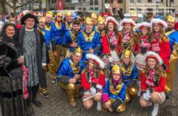 PB WarmUp-KV-Parade Maspernplatz Sa. 02. März 2019
